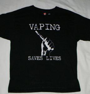 CASAA vaping saves lives shirt