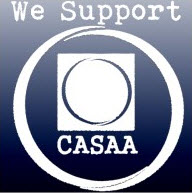 we support CASAA