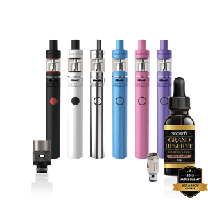 vape starter kit no nicotine bundle