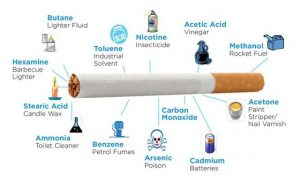 nicotine-in-cigarette